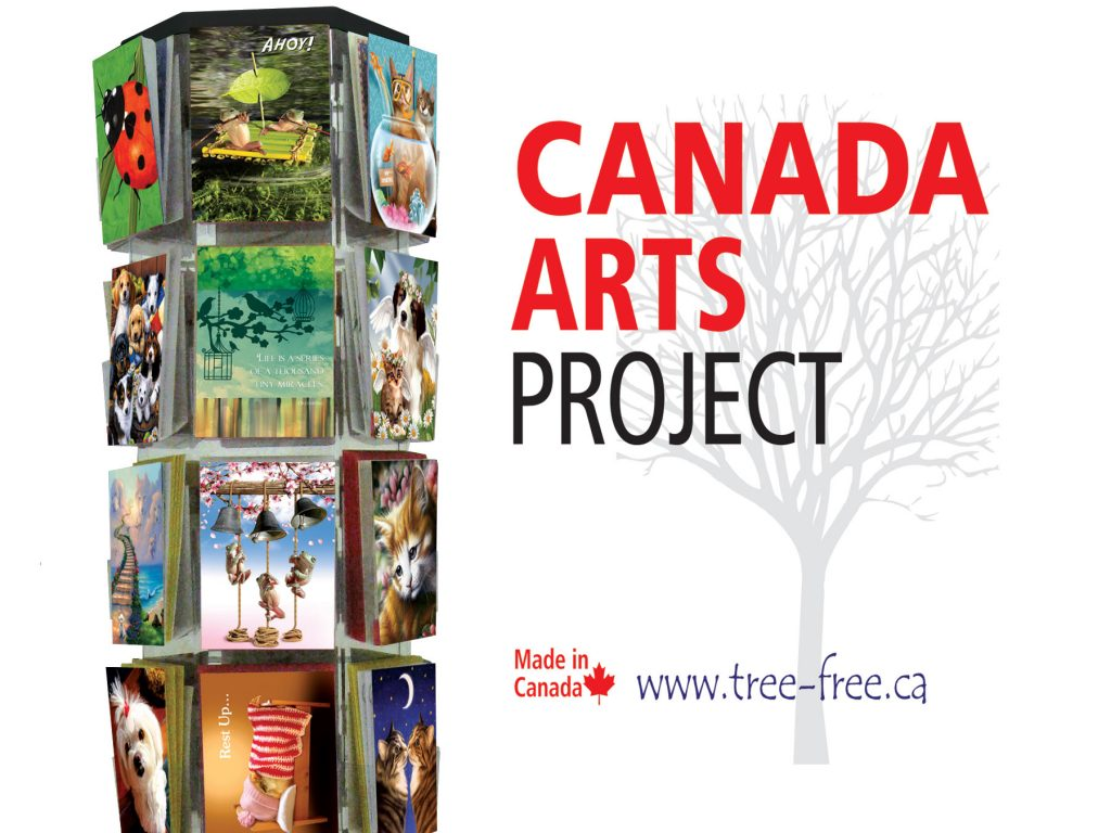 Tree Free Greetings Canada Made In Canada Cards Printed On Earth